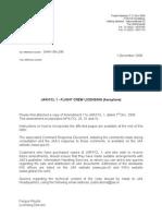 Jar-fcl 1 - Flight Crew Licencing Aeroplane)