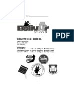 BHS Student Handbook 11-12