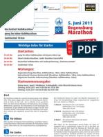 Starterinfom Halbmarathon