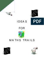 Maths Trail Ideas