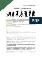 Curios Ida Des Sobre El Tango Argentino