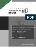 Ensayo Formacion de Politicas Sociales Definitivo