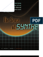 2004-08-01 the Sense of Synthetics in Worm Gear Lubrication