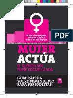 Guía rápida de feminicidio