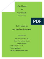 Let's clean up our local environment!