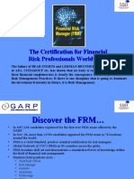 Financial Risk Manager - FRM- PPT[1]