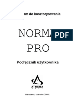 Instrukcja Obslugi Norma Pro