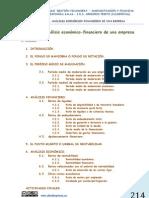 UNIDAD  10. ANÁLISIS ECONÓMICO-FINANCIERO DE UNA EMPRESA