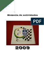 Memoria de actividades del Automóvil Club de Culleredo 2009