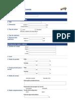 Formulário para Troca e emenda_Comercial_Modo de exibição 1