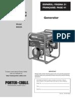 5250W Generator Owners Manual
