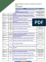 38811319 Philippine Nursing Seminars and Training March 2011
