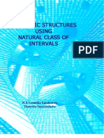 Algebraic Structures Using Natural Class of Intervals, by W. B. Vasantha Kandasamy, Florentin Smarandache