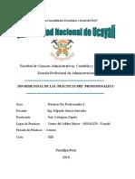 Informe de Practicas i