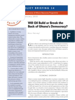 Harvey, R_Will Oil Build or Break the Back of Ghana's Democracy_2010