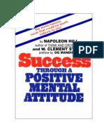 Success Through a Positive Mental Attitude w Clement Stone Napoleon Hill