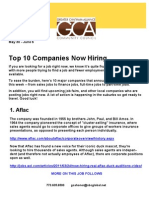 Gca - Job Hot List