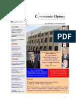 Boletín Communis Opinio - ER - Año 2, No. 22. Del 18 de Enero del 2010.