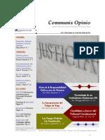Boletín Communis Opinio - ER - Año 2, No. 23. Del 26 de Febrero del 2010.