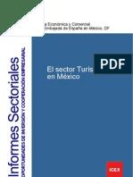 ICEX Estudio Mercado El Sector Turisitco en Mexico