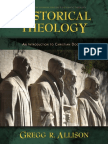 Historical Theology by Gregg Allison, Excerpt
