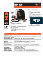 Spec Sheet - Handler 190