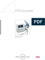VITA Easyshade Operating Manual