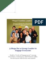 5-Steps for a Group Leader 213500