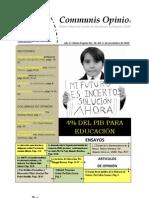 Boletín Communis Opinio - ER - Año 2, No. 26. Del 17 de Noviembre del 2010.