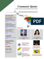 Boletín Communis Opinio - ER - Año 3, No. 27. Del 01 de Mayo del 2011.