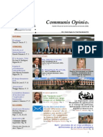 Boletín Communis Opinio - ER - Año 2, No. 25. Del 30 de Abril del 2010.