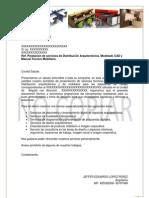 Modelo Carta de Presentación