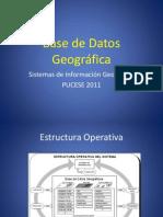 Introducción Base de Datos Geográfica