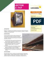Reflector HLC-747.PDF Para Alumbrado Publico