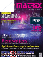 UFO Matrix Issue 3