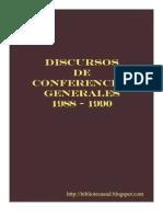 Discursos de Conferencias Generales 1988 - 1990