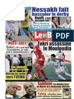 LE BUTEUR PDF du 07/06/2011