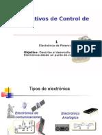 1. Desarrollo de electrónica de Potencia