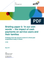 Personalisation Briefing 5 - A Collection of Case Studies