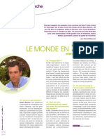 ITW d'Alexis dans le Magazine Decisions Durables