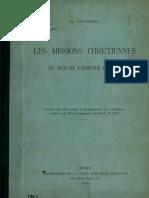 Duchesne. Les missions chrétiennes au sud de l'Empire Romain. 1896.
