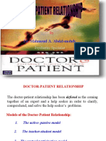 Docto Patient Relationship