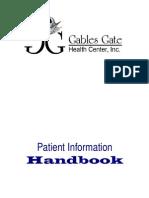Patient Handbook - English