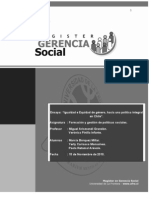 Igualdad y Equidad de Género, hacia una política integral en Chile2