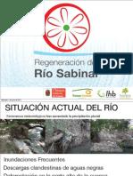 Regeneración del Río Sabinal