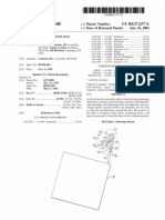 Stretch wrapping with film severing (US patent RE37237)
