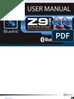 BLUEANT Z9i MANUAL