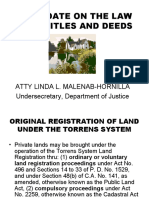 Update on Land Registration Law