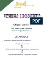 vitaminas lipossoluveis(nutrição e dietetica)