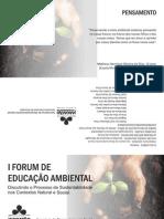 Meio Ambiente - Folder